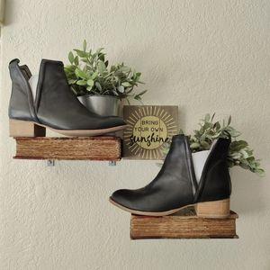 Jeffrey Campbell 💜 Vintage Muskrat Leather Bootie